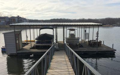 Galva Foam 2 Well Dock