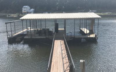 46 x 36 (2) Well Dock w/Single PWC Slip