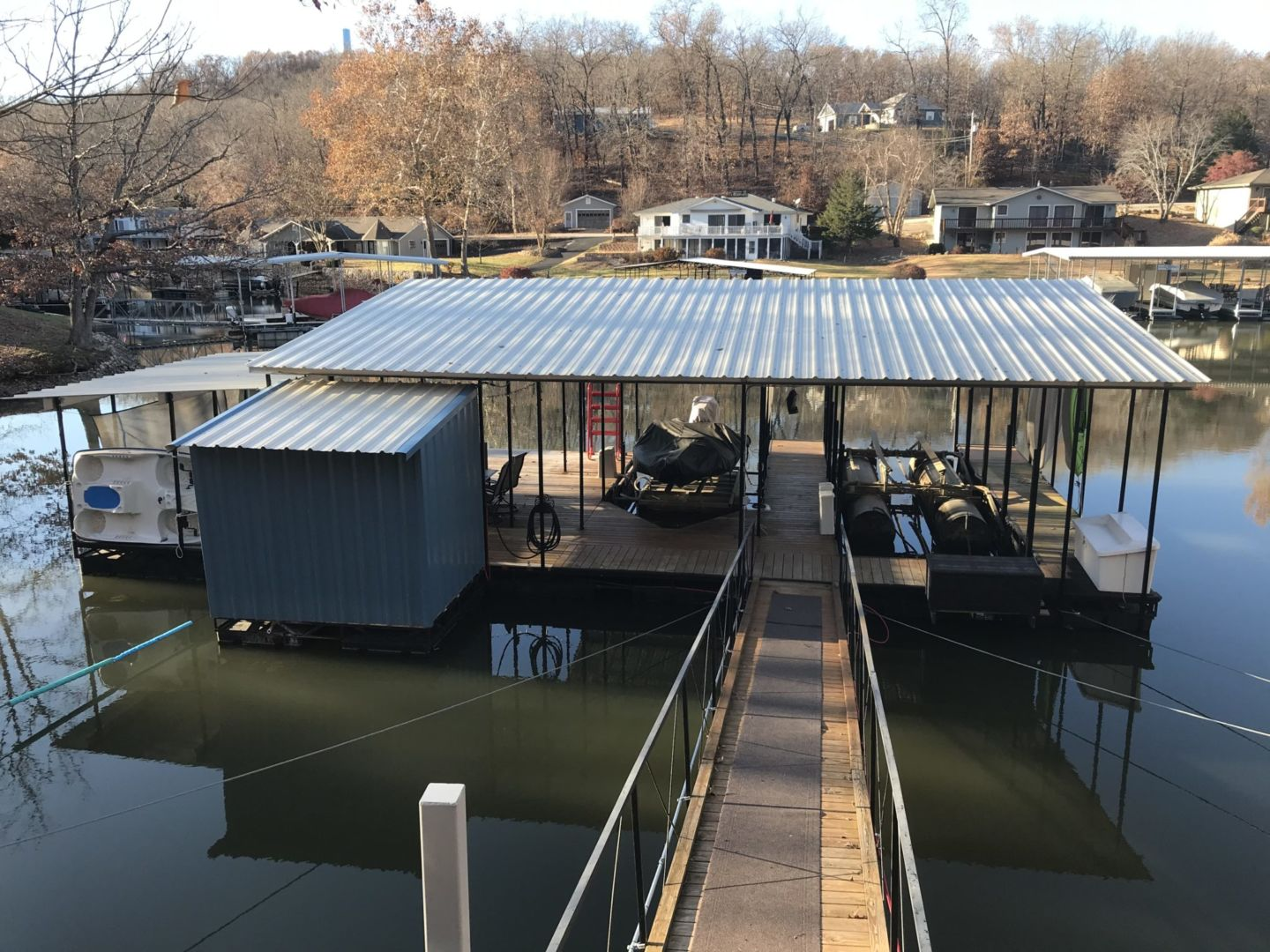 2 Well Dock with Dual PWC-02