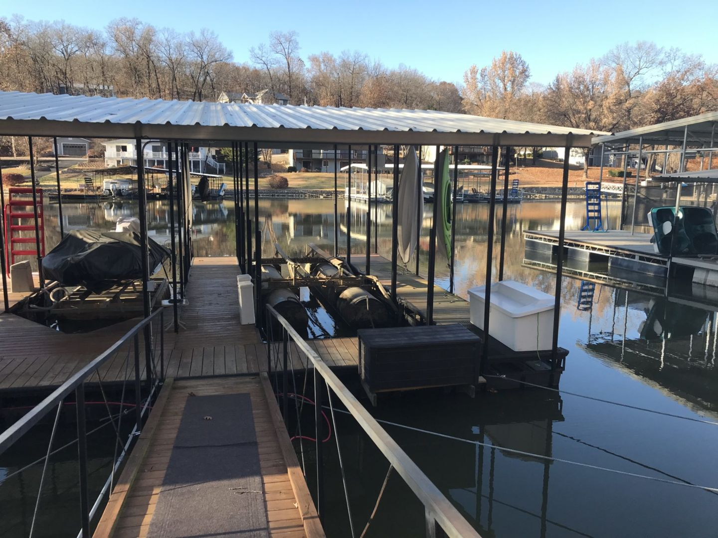 2 Well Dock with Dual PWC-04