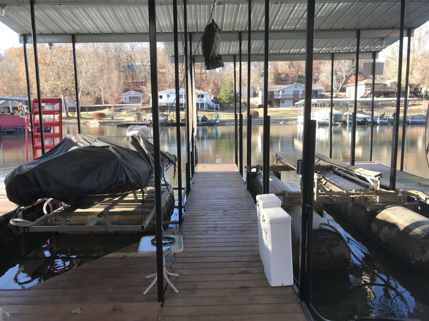 2 Well Dock with Dual PWC-07