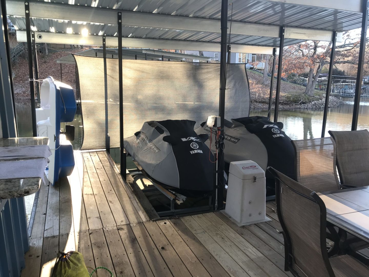 2 Well Dock with Dual PWC-10