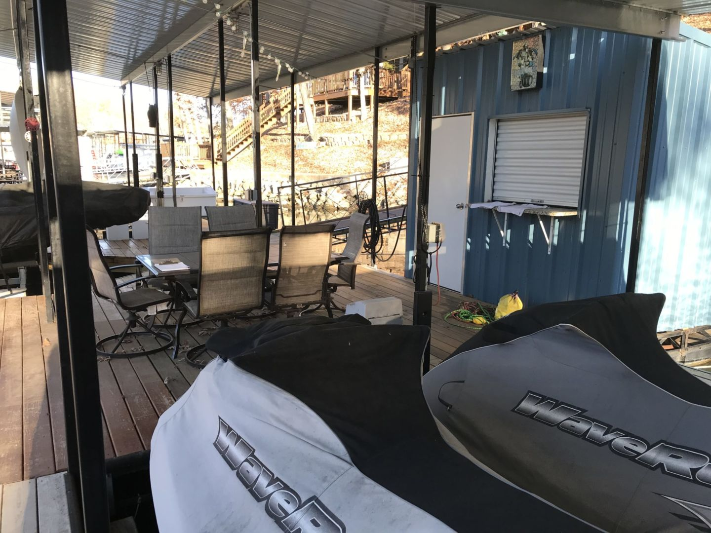 2 Well Dock with Dual PWC-16