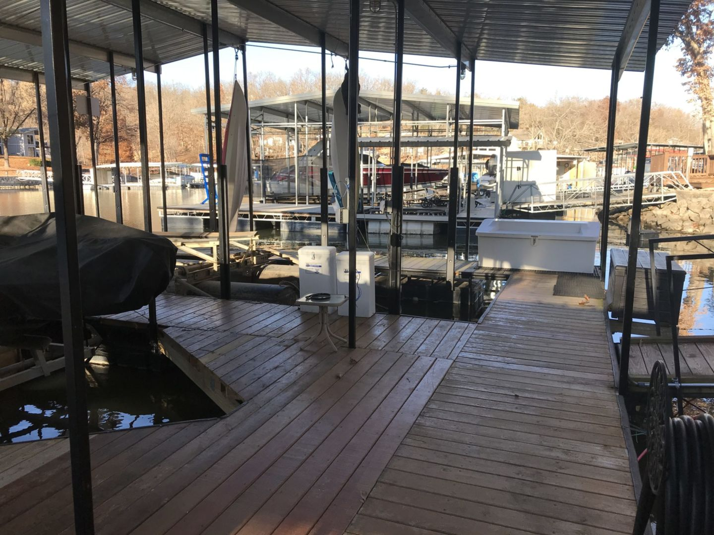 2 Well Dock with Dual PWC-19