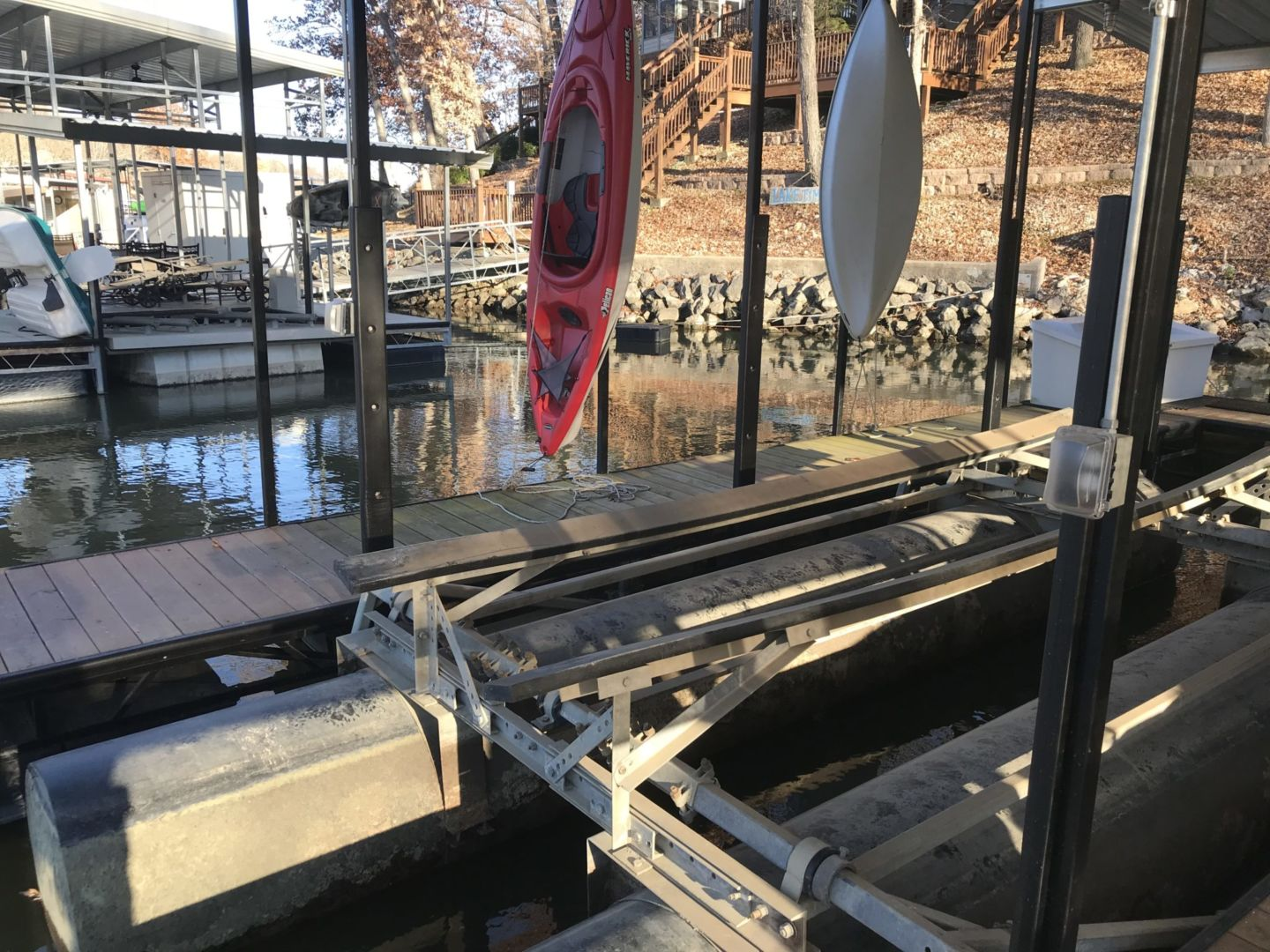 2 Well Dock with Dual PWC-22