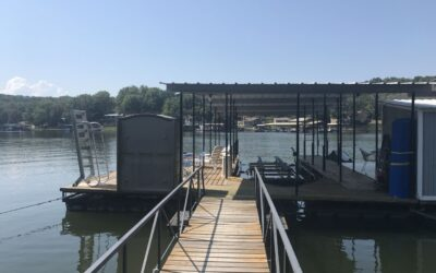 Single Well Dock w/12,000LB LIFT